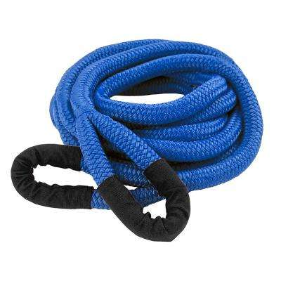 DitchPig 1/2 in. x 20 ft. 7300 lbs. Breaking Strength Kinetic Energy Vehicle Recovery Rope