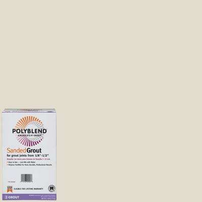 Polyblend #11 Snow White 7 lb. Sanded Grout