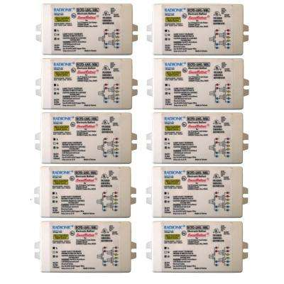 18-Watt Universal-Voltage High Power Factor Electronic Ballast for CFL Lamp (10-Pack)
