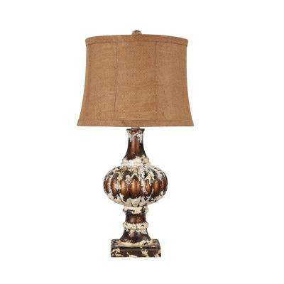 29 in. Multi-Colored Table Lamp