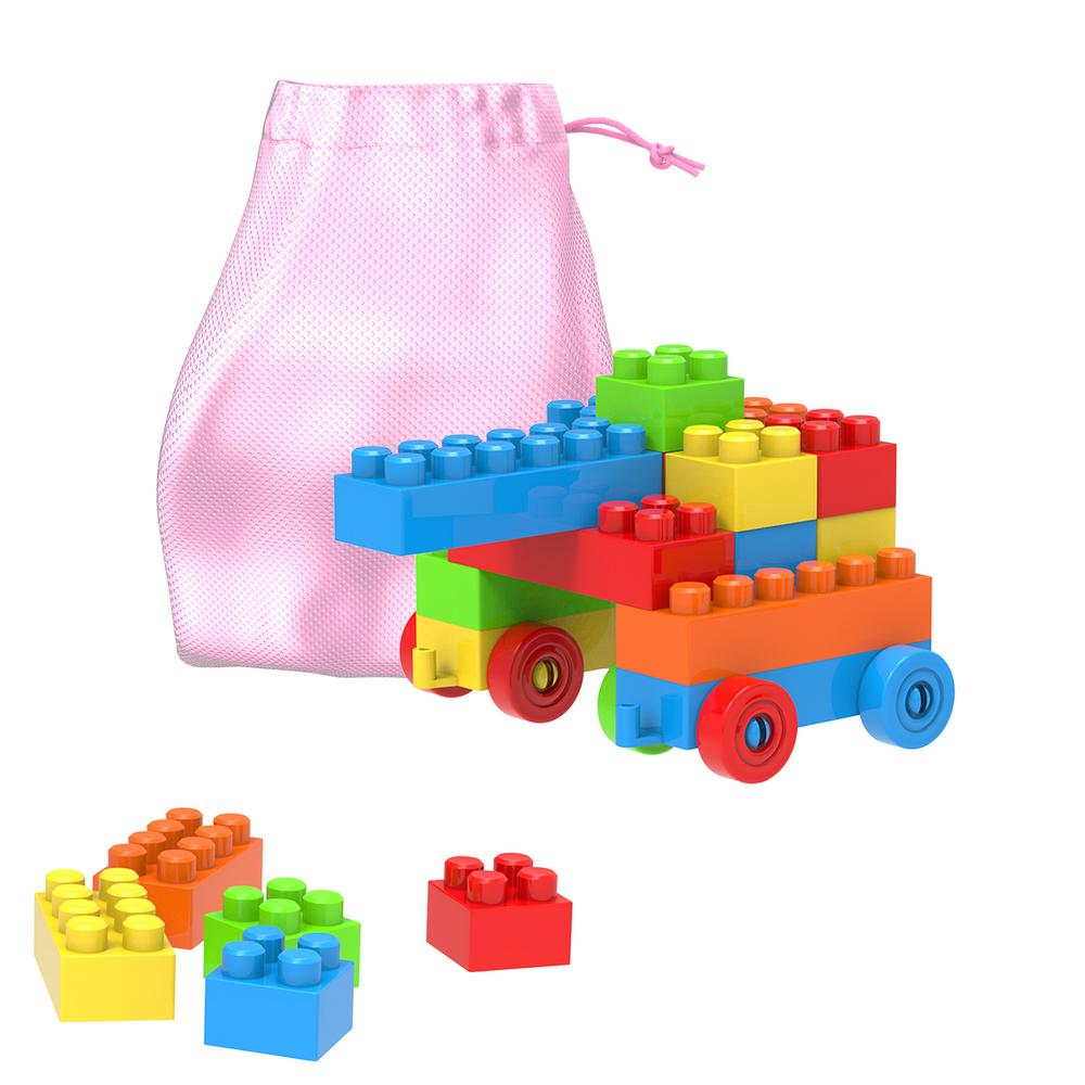 Building Blocks-Classic 90-Piece Set with Storage Bag