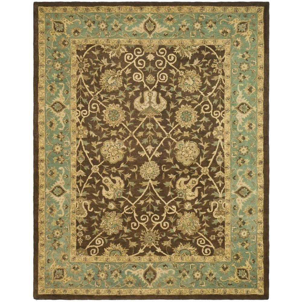 Safavieh Antiquity Brown/Green 8 Ft. X 10 Ft. Area Rug