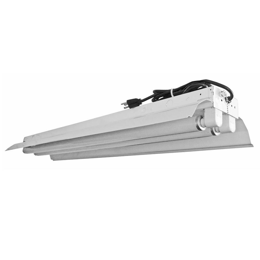 Aspects High-Output 2-Light 48 in. White Shoplight-DISCONTINUED