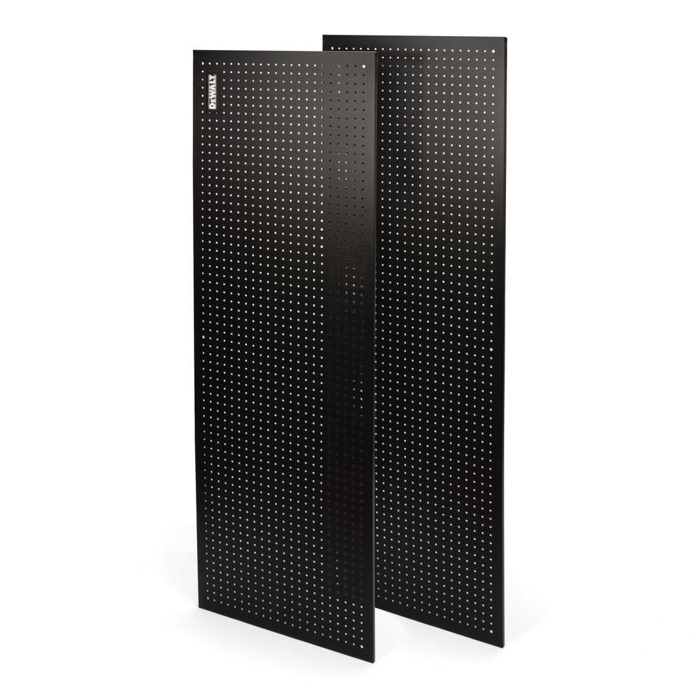 71 in. H x 24 in. W Pegboard Black Metal Kit for DXST10000 6 ft. Industrial Storage Rack