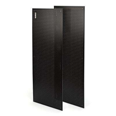 71 in. H x 24 in. W Pegboard Black Metal Kit for DXST10000 6 ft. Industrial Storage Rack