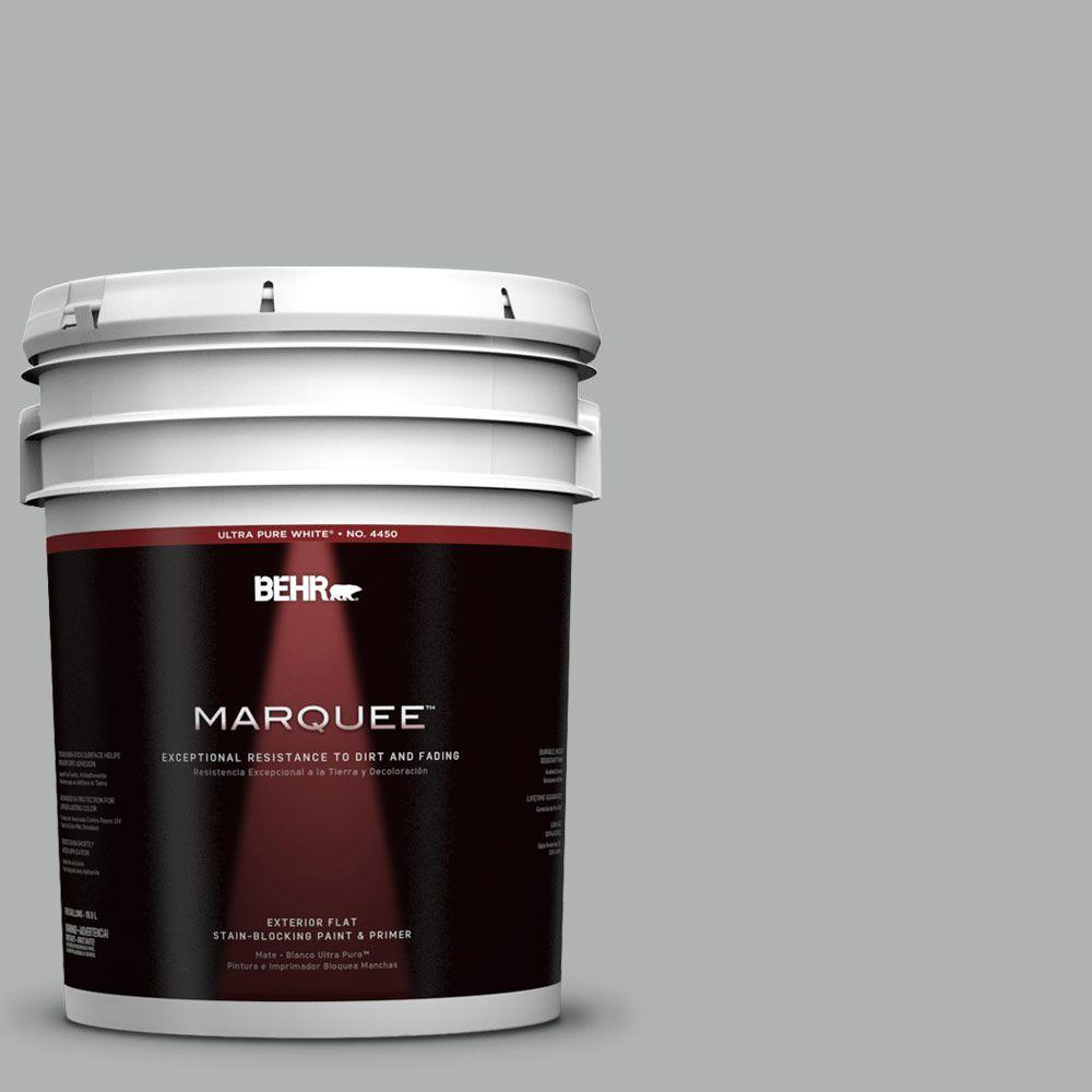 BEHR MARQUEE 5-gal. #780F-4 Sparrow Flat Exterior Paint