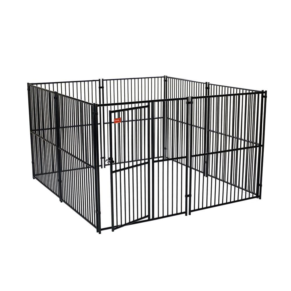 Lucky Dog 6 Ft H X 10 Ft W X 10 Ft L European Style Kennel Cl 65110 The Home Depot