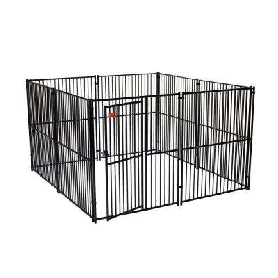 Lucky Dog 6 ft. H x 10 ft. W x 10 ft. L European Style Kennel