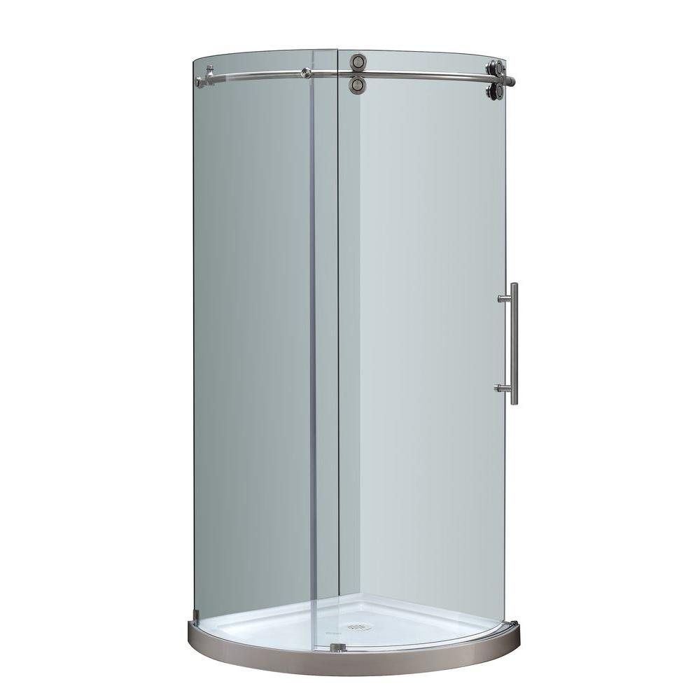 Schluter Kerdi-Shower 48 in. x 48 in. Shower Kit in PVC with ...