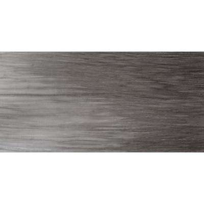 Latitude Graphite Matte 11.81 in. x 23.62 in. Porcelain Floor and Wall Tile (11.628 sq. ft. / case)