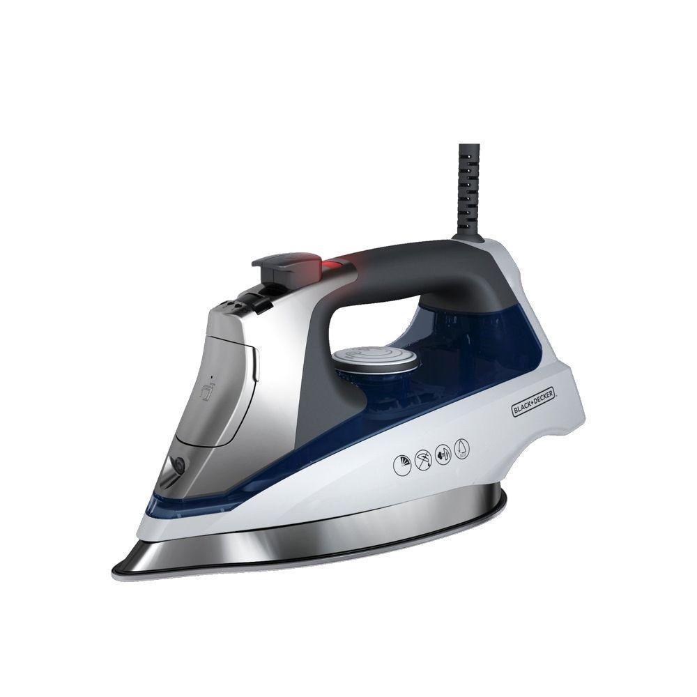 Black Decker Allure Pro Stream Iron D3030 The Home Depot