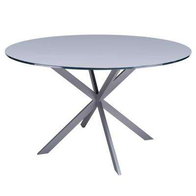Malek Grey Dining Table