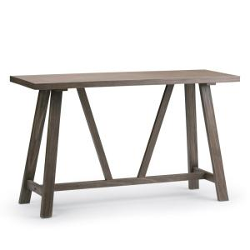 Sensational Simpli Home Dylan Solid Wood 50 In Wide Modern Industrial Theyellowbook Wood Chair Design Ideas Theyellowbookinfo