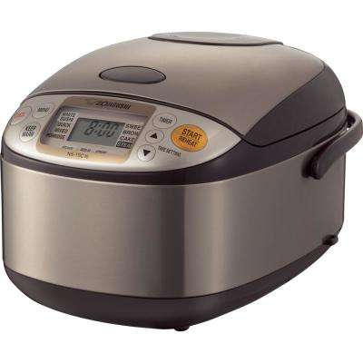 Micom Rice Cooker and Warmer Stainless 5 Cup