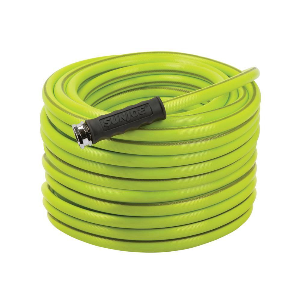 Aqua Joe 5/8 in. Dia. x 100 ft. Heavy Duty, Kink-resistant, Lightweight Garden Hose, Lead-free, BPA-free