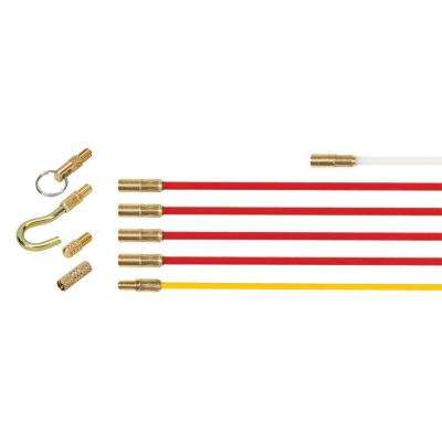 Super Rod Cable Rod Standard Plus Set Cable Routing Tools