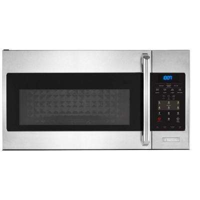 IQ Touch 1.5 cu. ft. Over the Range Convection Microwave in Stainless Steel with Sensor Cooking