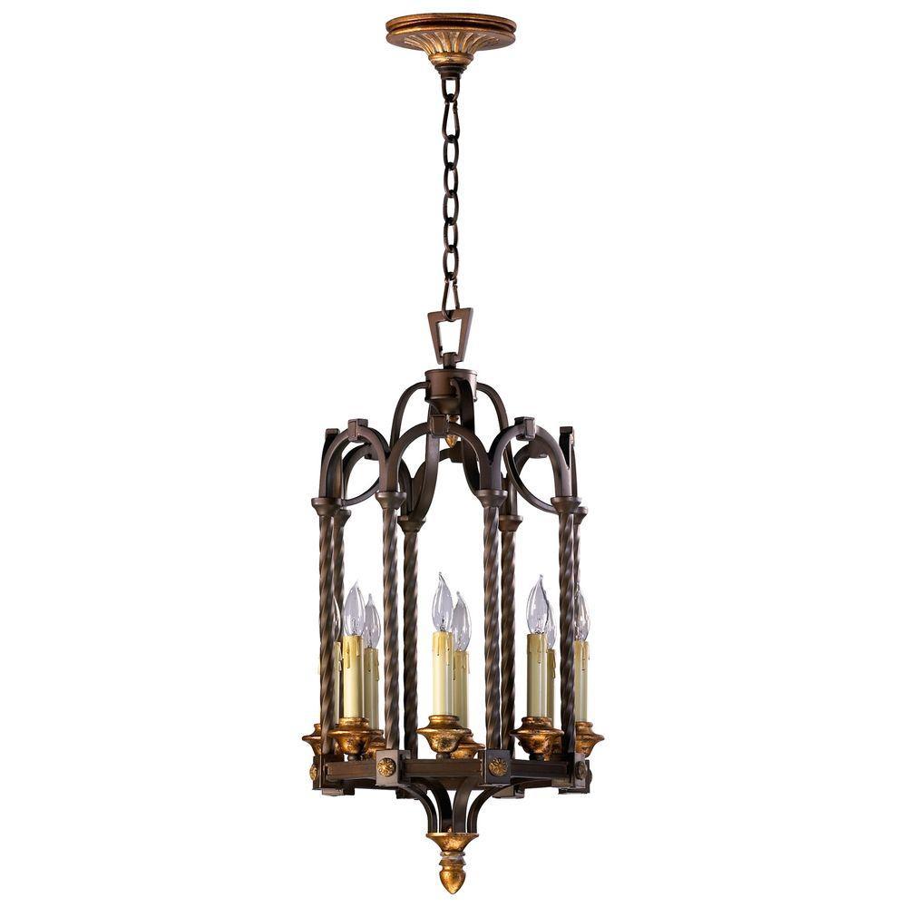 Filament Design Prospect 8-Light Oiled Bronze Pendant