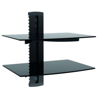 TygerClaw Double AV Component Shelving Wall Mount