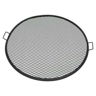 37.5 in. X-Marks Fire Pit Cooking Grill Grate