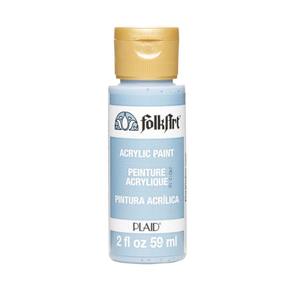 FolkArt 2 oz. French Blue Acrylic Craft Paint