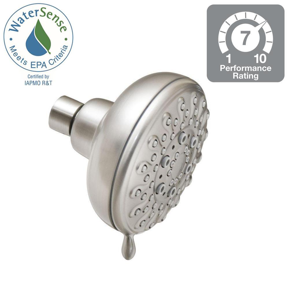 MOEN Banbury 5-Spray 4 in. Showerhead in Chrome-23045 - The Home Depot