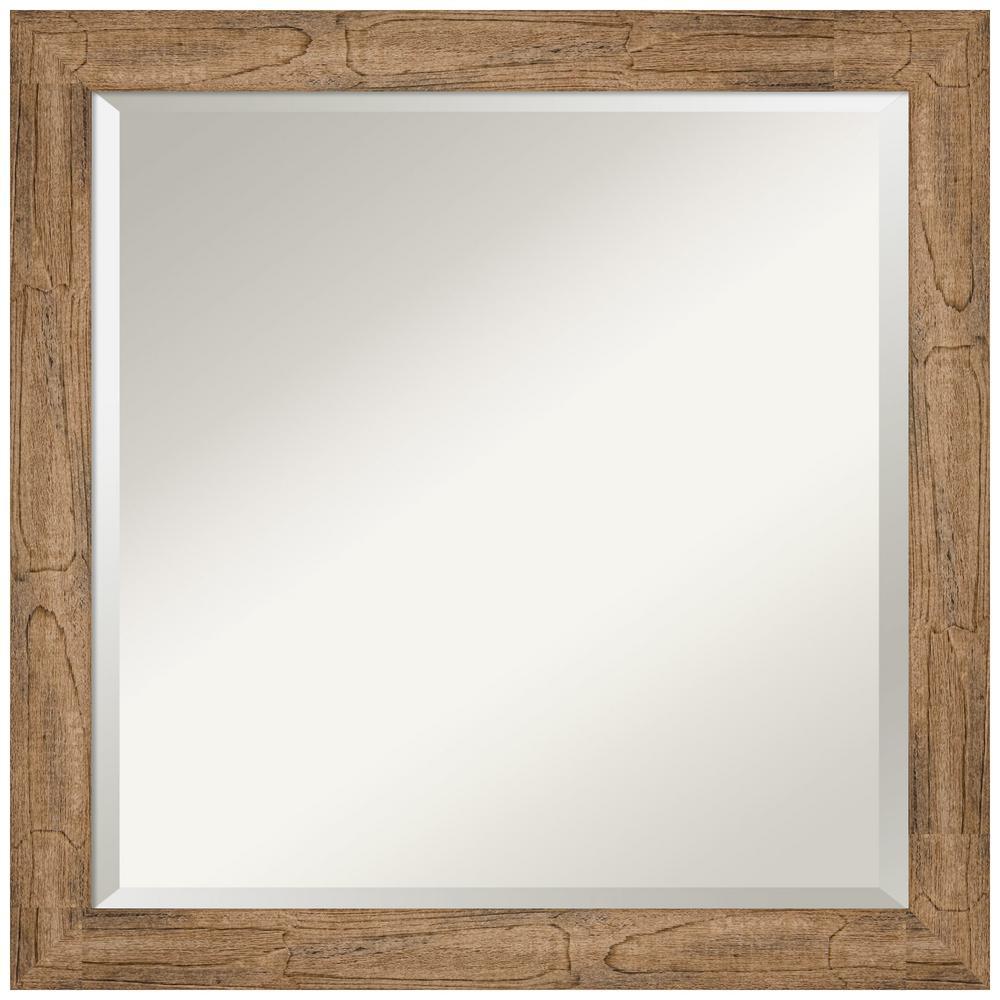 Amanti Art Owl Brown 23.38 in. x 23.38 in. Bathroom Vanity Mirror was $177.0 now $89.91 (49.0% off)