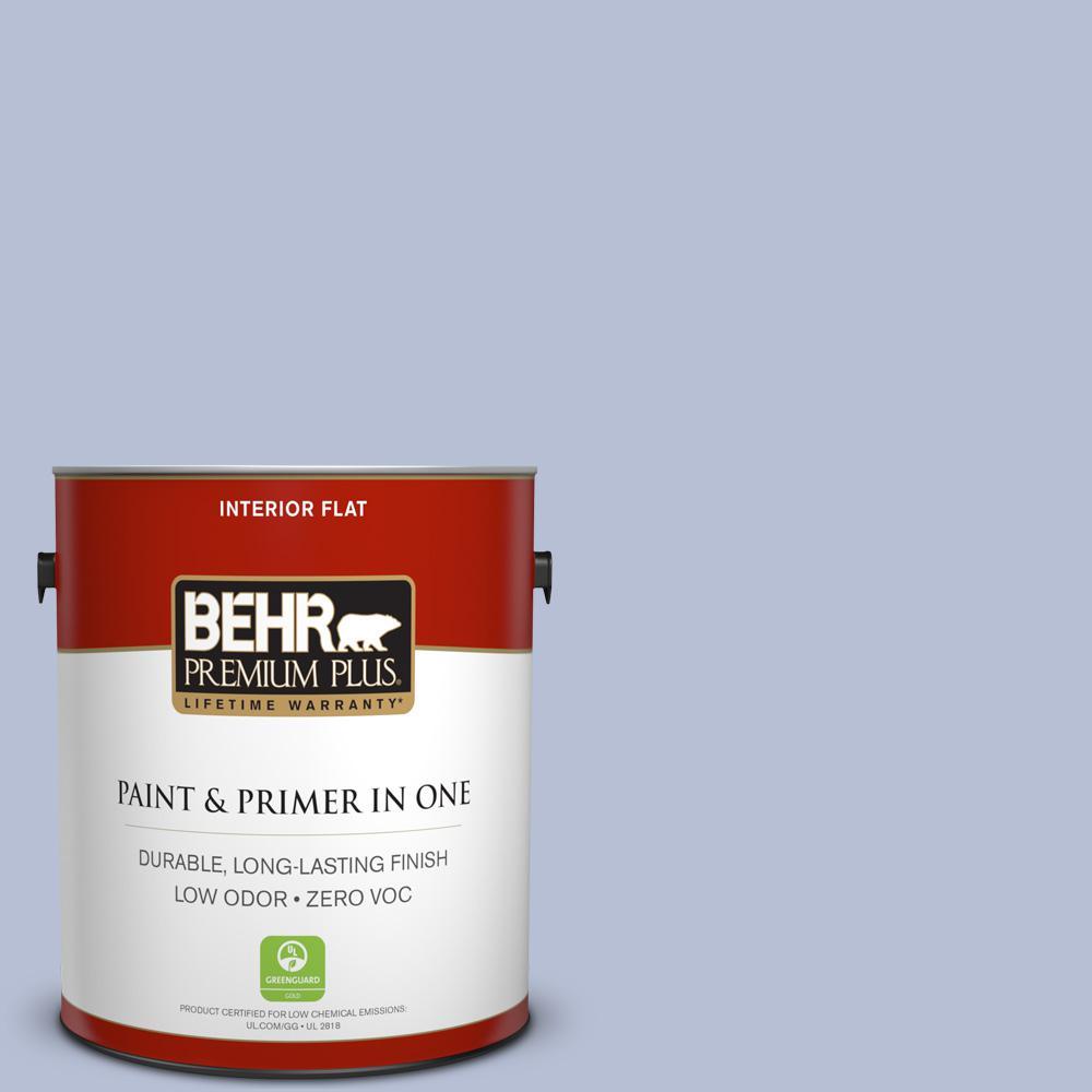 1 gal. #PPU15-15 Sweet Juliet Zero VOC Flat Interior Paint