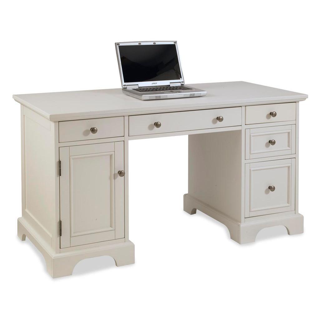 Naples White Desk
