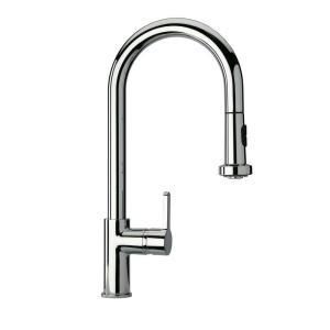 Awesome LaToscana Novello Single Handle Pull Down Sprayer Kitchen Faucet In  Chrome 92CR591   The Home Depot