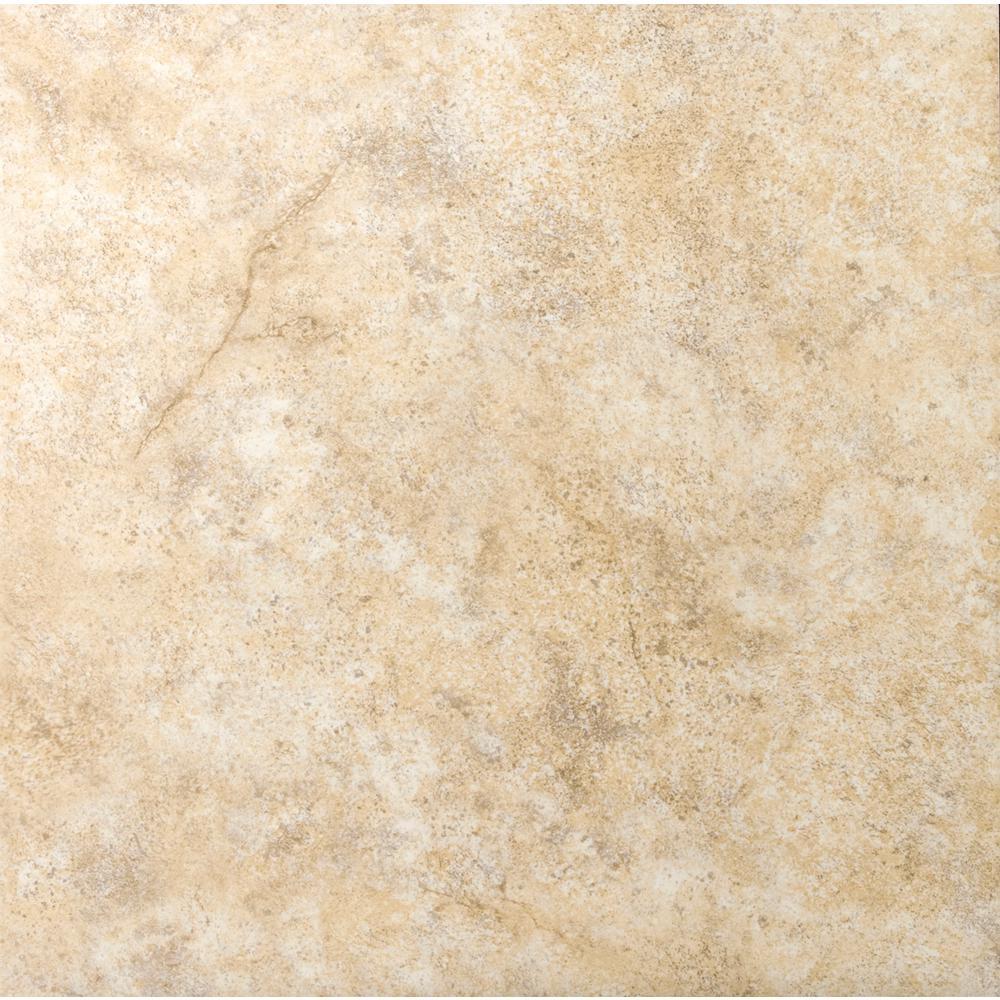 Toledo Beige Matte 6.42 in. x 6.42 in. Ceramic Floor and Wall Tile (5.79 sq. ft. / case)