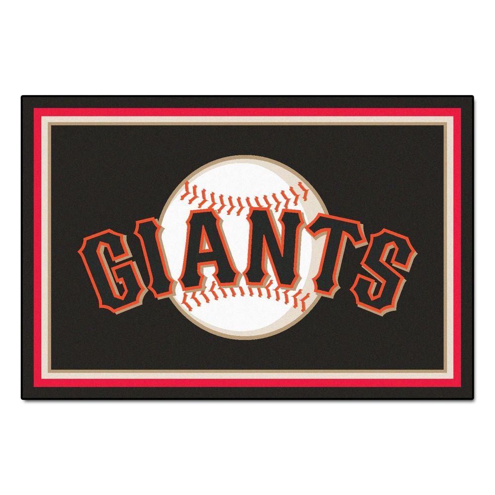 San Francisco Giants 5 ft. x 8 ft. Area Rug