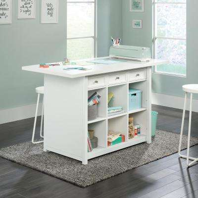 HomeVisions White Work Table