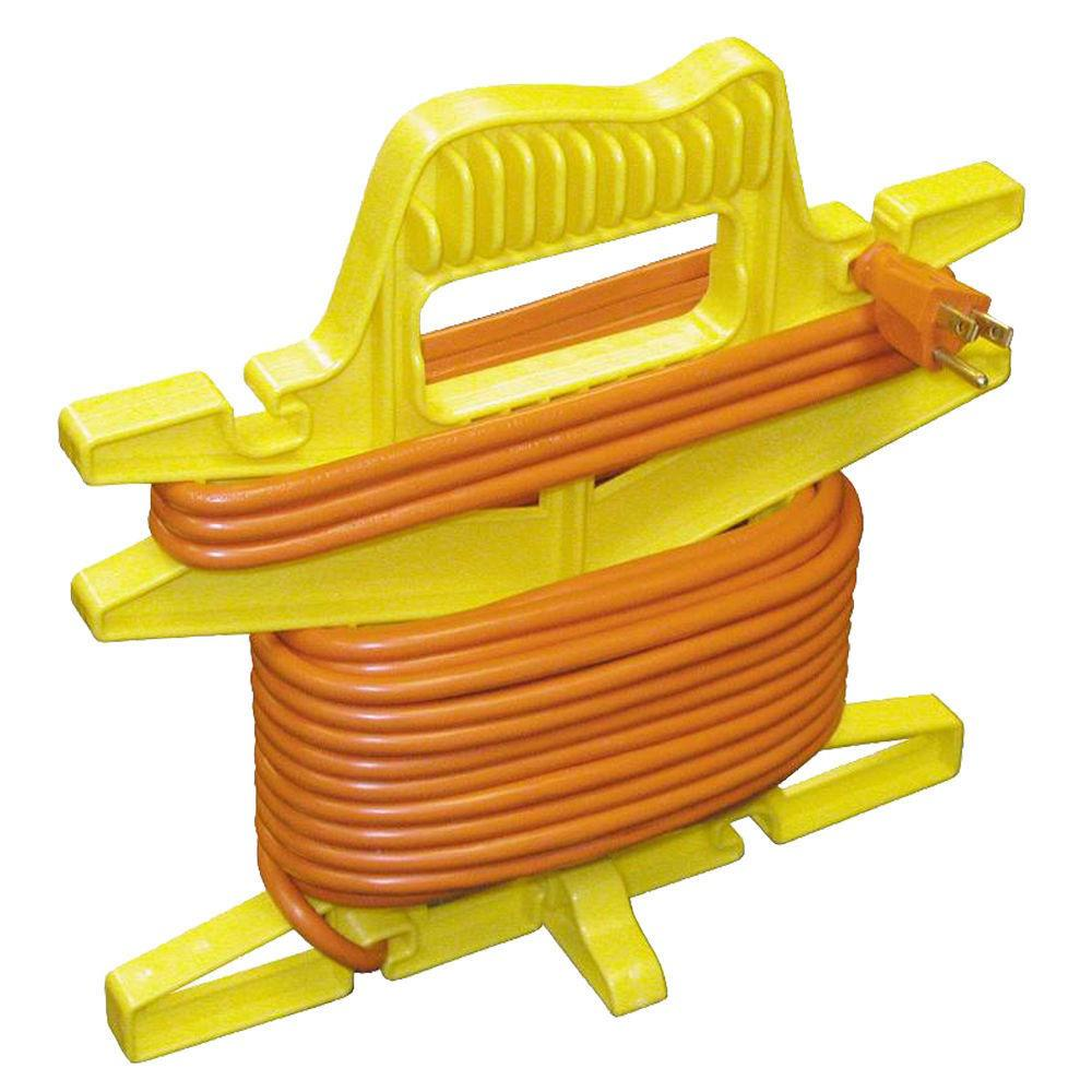 Cord Holders: Yellow Jacket Cord Wiz Yellow Extension Cord Holder