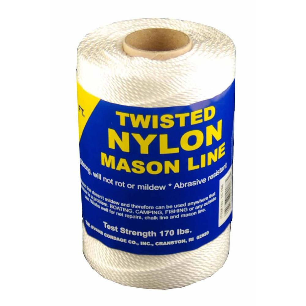 T.W. Evans Cordage #72 x 260 ft. Twisted Nylon Mason in Line