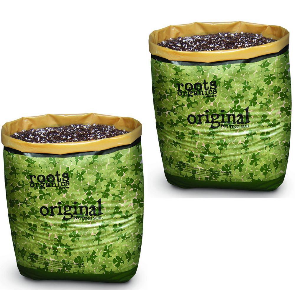 0.75 cu. ft. Roots Organics ROD Gardening Coco Fiber-Based Potting Soil Bags (2-Pack)