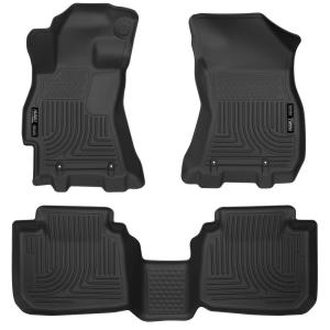 Husky Liners 34061 Front Floor Liners Fits 98-08 Forester