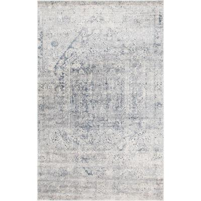 Chateau Quincy Gray 6' 0 x 9' 0 Area Rug