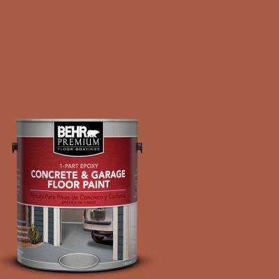 1 gal. #M190-7 Colorful Leaves 1-Part Epoxy Concrete and Garage Floor Paint