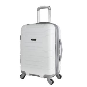 Olympia USA Denmark 21-in White Expandable Carry-On Spinner Deals