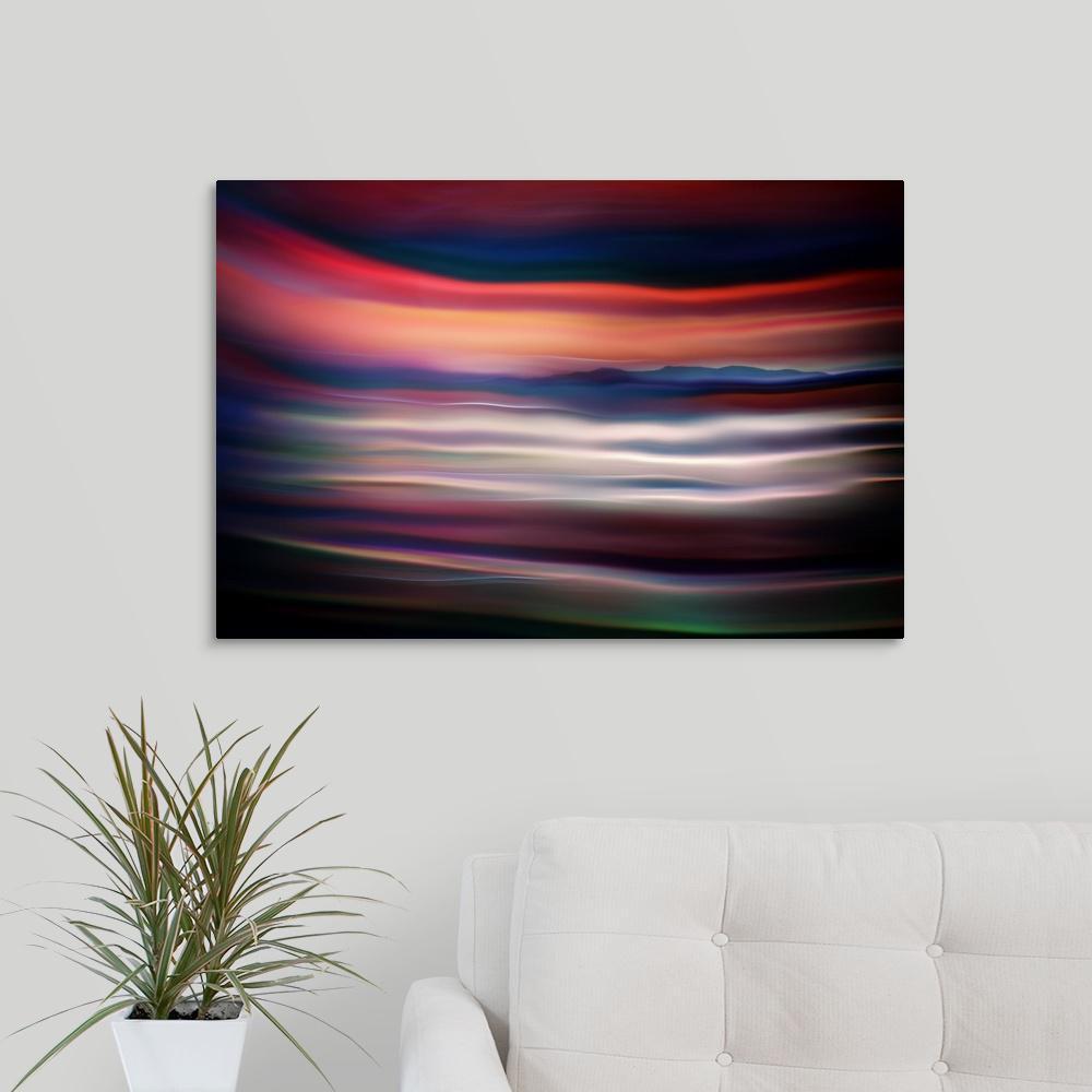 """""""Distant Land"""" by Ursula Abresch Canvas Wall Art"""