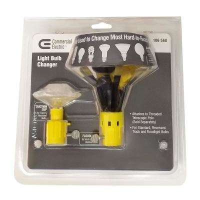 Light Bulb Changer Adapter Set for Flood and Recessed Bulbs (2-Pack)