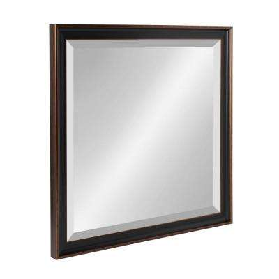 Havana Square Bronze Accent Mirror