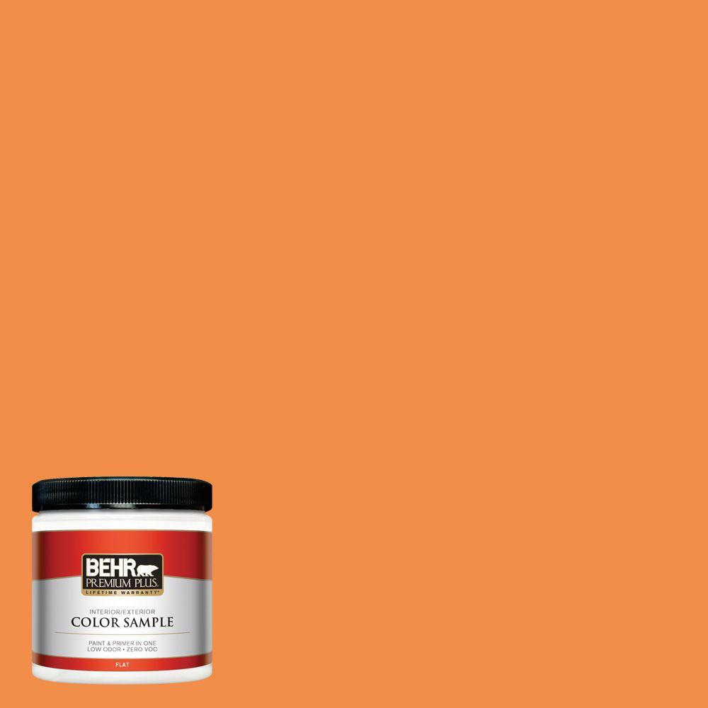 Behr Premium Plus 8 Oz 250b 6 Poppy Glow Interior