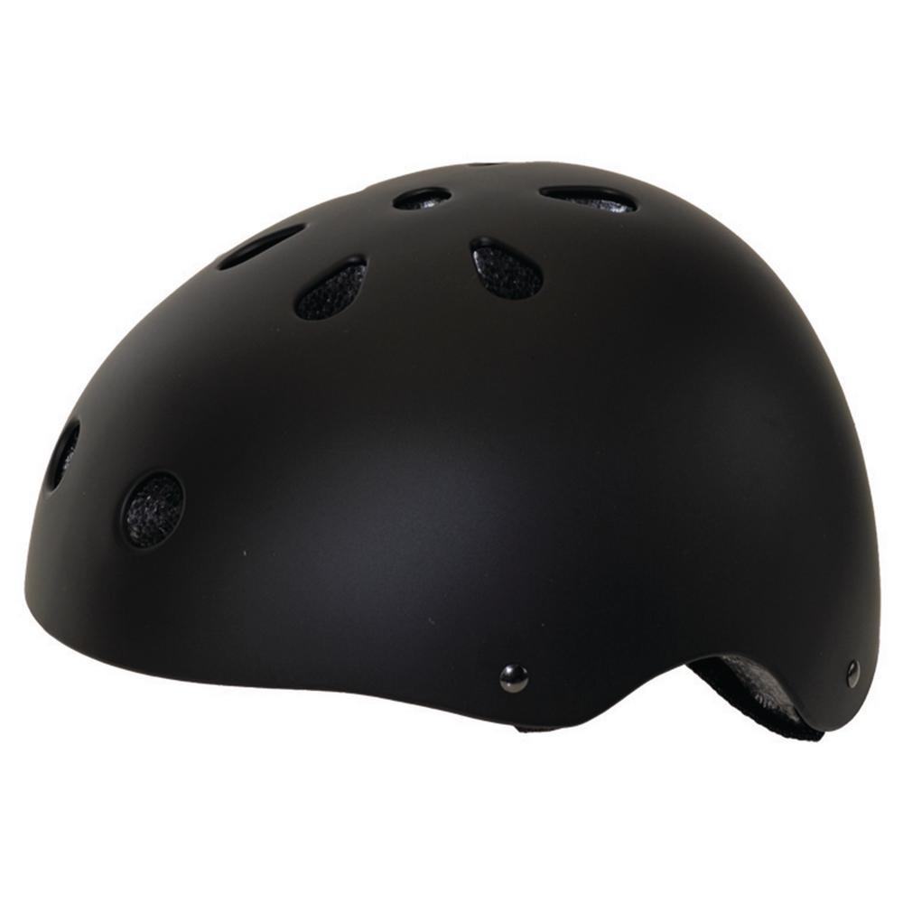 Matte Freestyle Medium Bicycle Helmet in Black