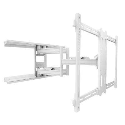 Full Motion TV Mount for 39 in. to 80 in. TVs in White
