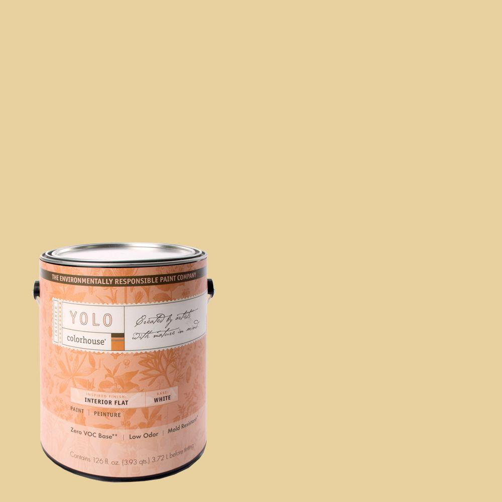 YOLO Colorhouse 1-gal. Grain .03 Flat Interior Paint-DISCONTINUED