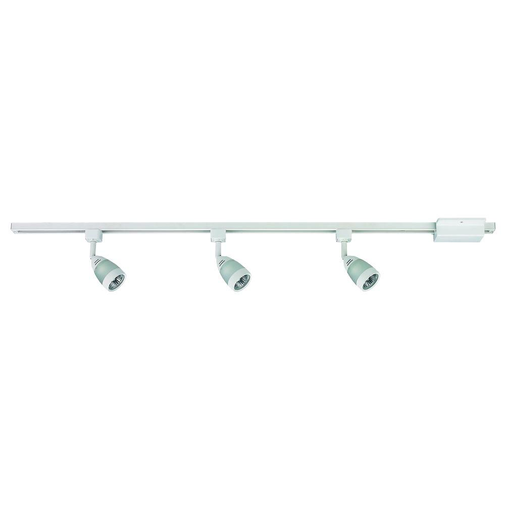 Hampton Bay 3 Light White Linear Track Lighting Kit