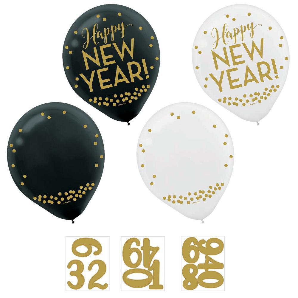 Happy New Year Balloons 72