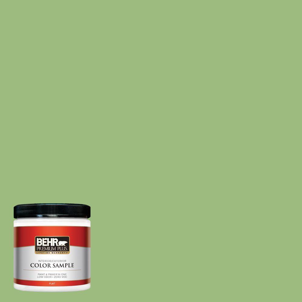 BEHR Premium Plus 8 oz. #P380-5 Gleeful Interior/Exterior Paint Sample